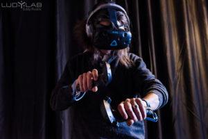 Expérience d'immersion en réalité virtuelle au LUDyLAB à Chambretaud en Vendée