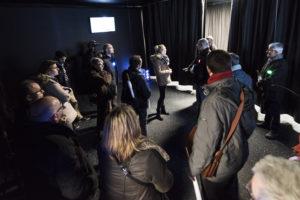 Inauguration du LUDyLAB à Chambretaud en Vendée : journalistes et institutionnels testent la réalité virtuelle