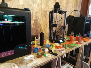 Inauguration du LUDyLAB à Chambretaud en Vendée : imprimantes 3D du groupe VTech