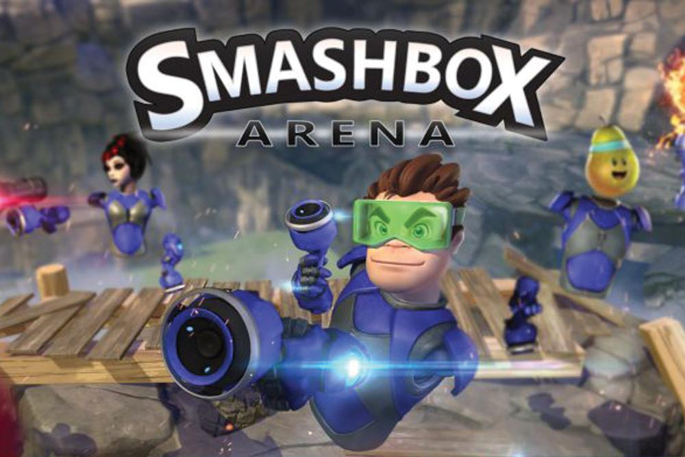 Smachbox Arena, nouveau jeu de réalité virtuelle disponible au LUDyLAB à Chambretaud en Vendée, à 5 minutes du Puy du Fou
